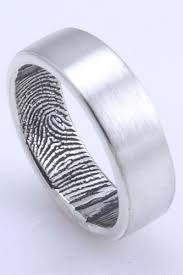 wedding rings for guys 16 alternative wedding rings for guys fingerprint wedding bands