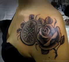 80 excellent flowers tattoos on shoulder