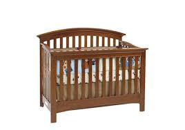 essentials full size conversion kit bed rails in chestnut by baby