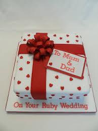amazing 40th wedding anniversary cakes inspirations marina