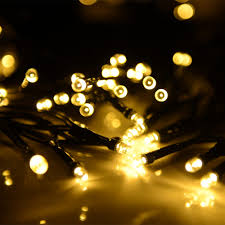 Solar Powered Outdoor Fairy Lights by Annt Annt Solar Powered Led String Light Ambiance Lighting