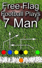 Best Flag Football Plays Free Flag Football Plays 7 Man Ebook By Jason Bellomy