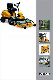 stiga lawn mower 14 hst user guide manualsonline com