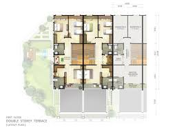 2 Storey House Plans 3 Bedrooms 2 Storey Terrace House Design House Interior