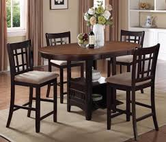Kitchen Table With Storage by Dining Table Counter Height Dining Table With Storage Pythonet
