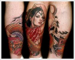 leg tattoo ideas for men and women
