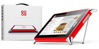 tablette de cuisine qooq test de la tablette tactile pour cuisiniers qooq