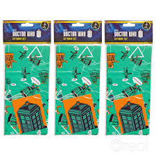 doctor who wrapping paper new doctor who gift wrap set birthday tags wrapping paper tardis