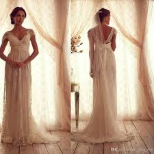 Vintage Style Wedding Dress Vintage Wedding Dresses Sheer Strap Wedding Gown Cap Sleeve Shher