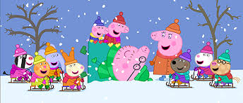 peppa pig cold winter day 2015 dvd review keeping it reel