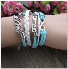 faith bracelets mkd handmade leather faith bracelets for women mkd jewelry