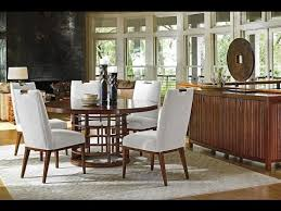 Tommy Bahama Dining Room Furniture Island Fusion Dining Collection By Tommy Bahama Youtube