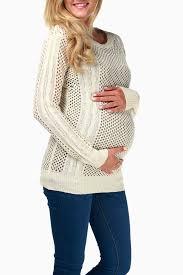 knit maternity sweater
