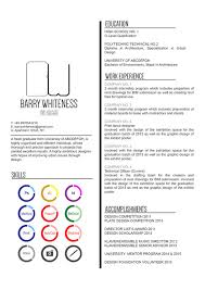How Do You Write A Resume For Your First Job by The Top Architecture Résumé Cv Designs Archdaily