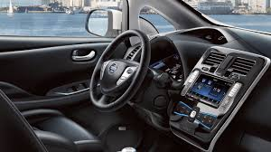 nissan cargo van interior 2017 nissan leaf electric car features