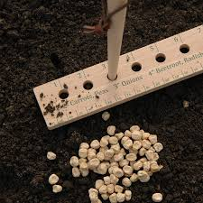 great garden tools seed and plant spacing ruler garden ideas