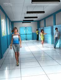 hallway 3d models and 3d software by daz 3d