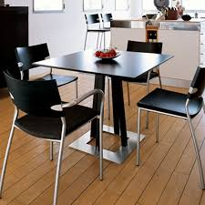 furniture modern style dining room come with square steel dining
