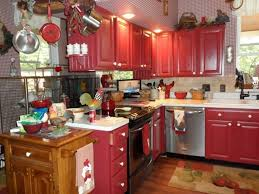 red kitchen furniture barn red kitchen cabinets ideas amazing value of red kitchen