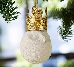 animal ornament benefiting st jude pottery barn