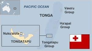 tonga map tonga country profile
