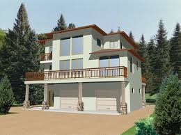 style homes plans hillside and view lot modern home plans about modern style house