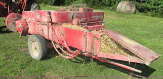 1965 massey ferguson 12 small square baler item h4543 so