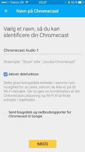 test google chromecast audio recordere dk