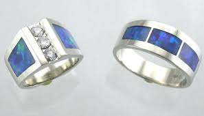 Opal Wedding Ring by Matching Wedding Sets By James Hardwick Jewelers Page 2