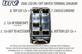 Wiring Diagram For Garage Door Opener by Utv Inc Carling Back Lit Led Switches U0026 Diagrams