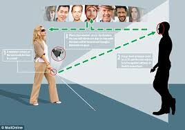 Blind People Canes Xplor Cane Uses Recognition To Spot Friends In A Crowd