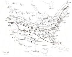 Jet Stream Map Weather Forecsating On Line