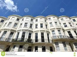 Georgian Architecture by Georgian Houses Brighton Stock Photo Image 72006490