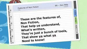 Elements Of Fiction Worksheet Non Fiction Rap Youtube