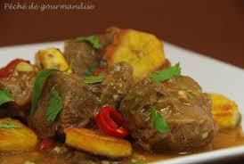 cuisiner la banane plantain curry d agneau aux bananes plantain sautées péché de gourmandise