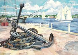 The 25 Best Anchor Print - anchor painting best 25 anchor canvas paintings ideas on pinterest