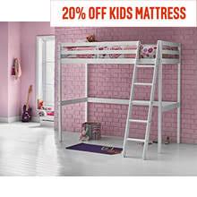 High Sleeper With Futon And Desk Children U0027s Beds Argos