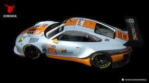 gulf racing porsche 911 gt3 r 2016 gulf racing racedepartment
