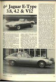 the 4 2 litre jaguar e type motor sport magazine archive