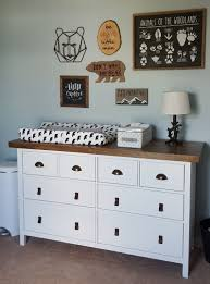 ikea hack hemnes dresser ikea hack hemnes dresser white stain transformed with bronze