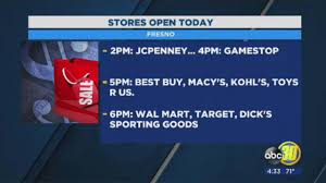 In The Box Thanksgiving Hours These Retailers Are Open On Thanksgiving Day 2017 Abc30