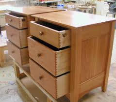 custom made cherry and maple nightstand rj fine woodworking