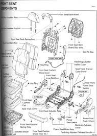 lexus rx 350 manual front seat diagram broken part clublexus lexus forum discussion