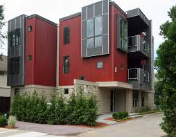 Modern Multi Family House Plans Case Study Multifamily Project Lends Contemporary Style