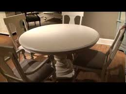 Paula Deen Dining Room Paula Deen Home Round Oval Pedestal Dining Table In Linen Finish