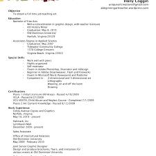 Art Education Resume Art Teacher Resume Template Resume A Beginning Art Teacher U0027s Blog