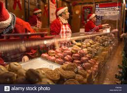 frankfurt christmas market u0026 craft fair birmingham stock photo
