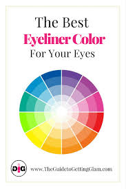 color wheel for makeup artists the best eyeliner color for your makeup tips