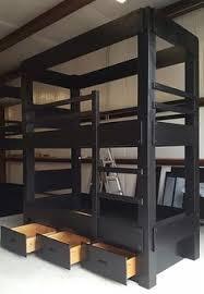 Custom Made Twin Xl Over Full Xl Bunk Beds Ideas Construcción - Twin extra long bunk beds