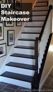How Do You Install Laminate Flooring On Stairs Staircase Makeover Staircase Makeover Staircases And Painted